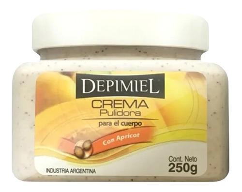 Crema Exfoliante C/ Apricot X 250 Grs- Depimiel