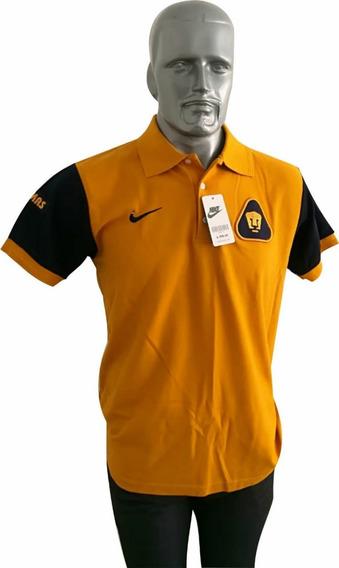 Playera Camisa Hombre Tipo Polo Liga Mx Pumas Unam