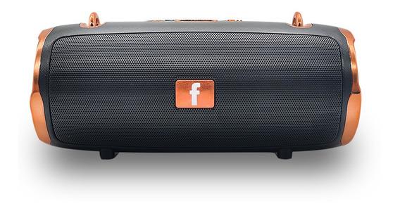 Caixa De Som Bluetooth 6w Tecido Estilo Charger Fm/usb/aux