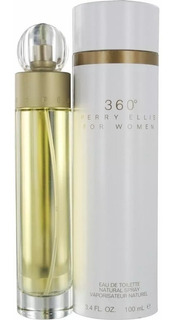 Perfume 360 Grados Perry Ellis Mujer 100 - L a $499