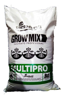 Grow Mix Multipro 80 Lts Sustrato Profesional Leer Descrip