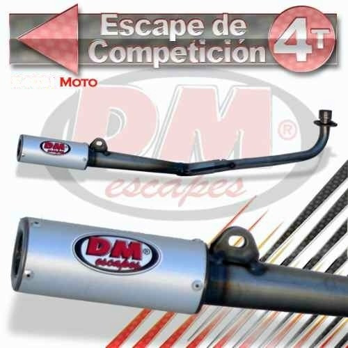 Escape Dm 4032 Competicion Moto/dax/cross/kart