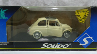 Fiat 500 1960 - Carro De Coleccion Escala 1/16