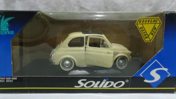Fiat 500 1960 - Carro De Coleccion Escala 1/16