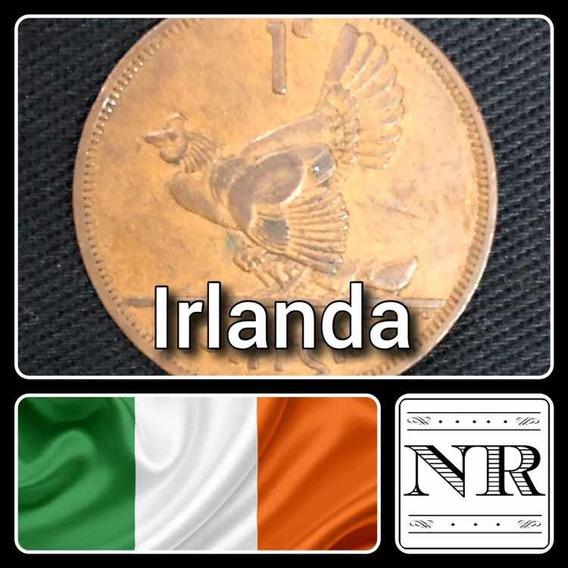 Irlanda - 1 Pingin - Año 1964 - Km # 11 - Gallina + Pollitos