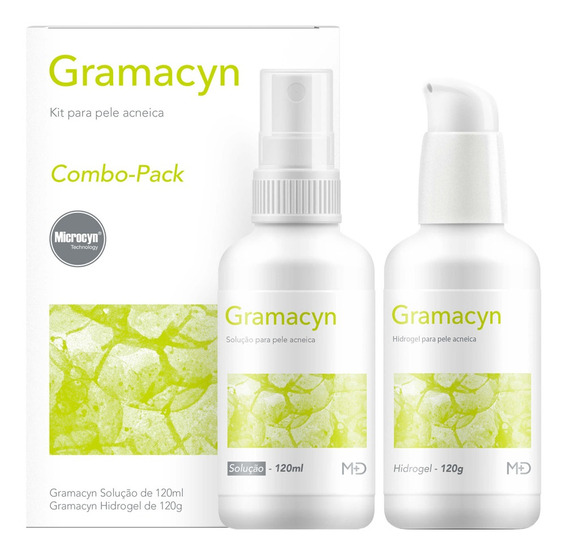 Combo Gramacyn Under Skin - Solução + Hidrogel Kit