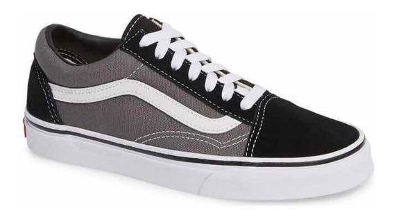 Zapatillas Old School Black/ Grey