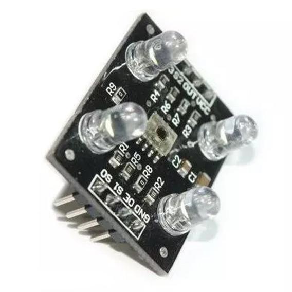 Módulo Sensor De Cor Rgb Tcs230 Tcs3200 Arduino Raspberry