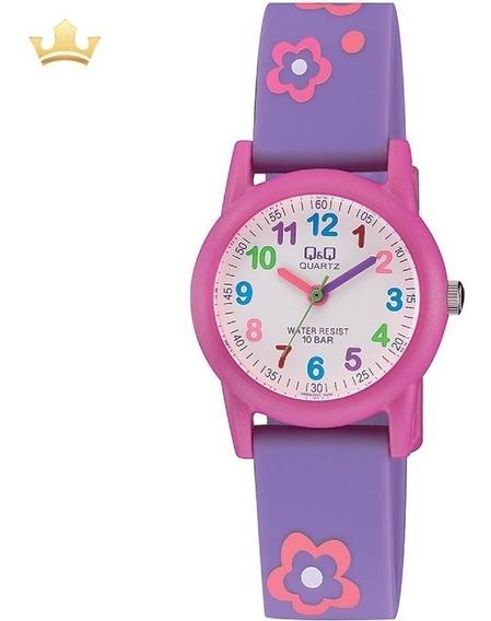 Relógio Q&q By Japan Infantil Vr99j001y C/ Garantia E Nf