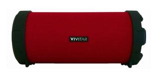 Parlante Vivitar Fabric Collection Bluetooth Tube Speaker portátil inalámbrico Bordó
