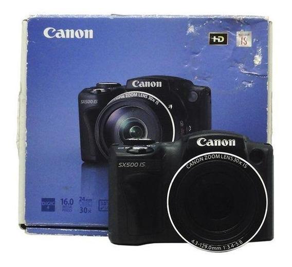 Câmera Powershot Sx500 Is Canon Pronta Entrega
