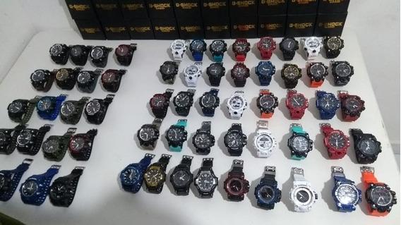 Kit Com 6 Relógios Mais As Caixinhas