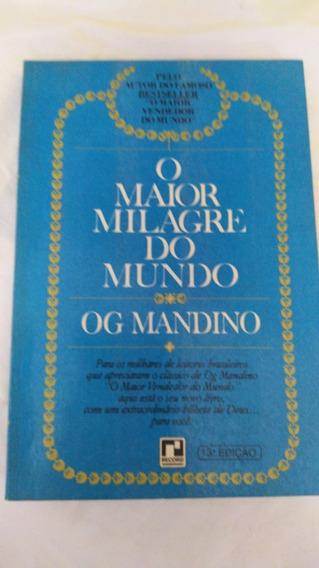 * Livro O Maior Milagre Do Mundo - Og Mandino