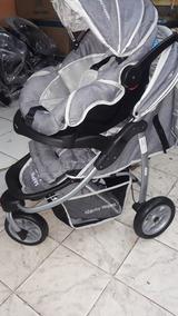 Carrinho De Bebê 3rodas De Luxo Passeio Da Marca Baby Happy