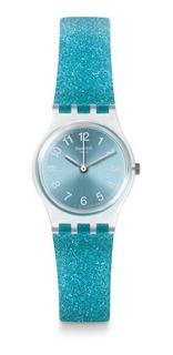 Reloj Swatch Glitterceleste Lk392 Mujer Envio Gratis Promo