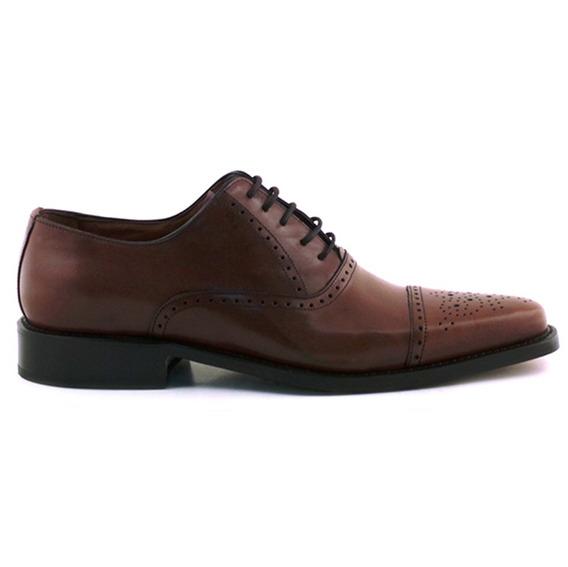 Zapato Hombre Acordonado Cuero Briganti - Hcac00762