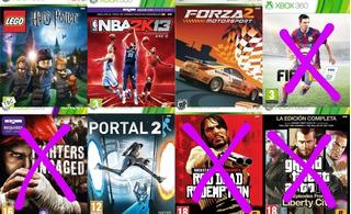 Juegos Físicos Originales - Xbox 360