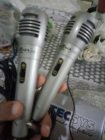 Kit 2 Microfone Britania