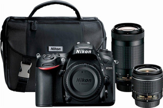 Camara Digital- Nikon D7200 Dslr Lentes 18-55 Mm Y 70-300mm