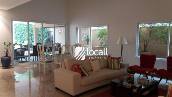 Casa Com 5 Dormitórios À Venda, 430 M² Por R$ 2.000.000 - Parque Residencial Damha I - São José Do Rio Preto/sp - Ca1927
