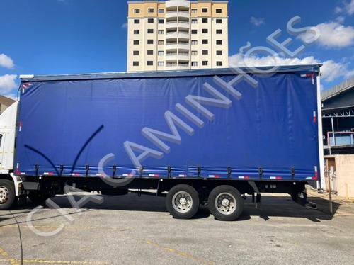 Imagem 1 de 11 de Baú Sider Para Truck Ano 2008 De 9,0metros Livre