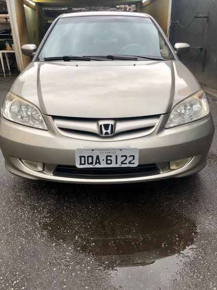 Honda Civic 1.7 Lxl Aut. 4p 130 Hp 2005