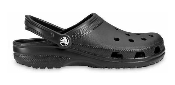 Zapato Crocs Adulto Unisex Classic Clog Negro