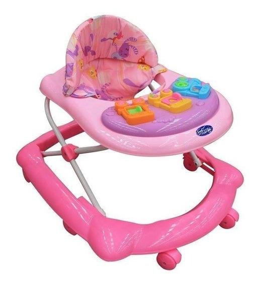Andadera Infanti Train Pink