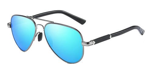 Lentes De Sol Polarizados Aluminio Tr90 Gafas Piloto Frank