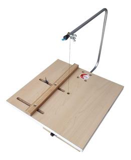 Cortador Calador Telgopor Con Regla Y C/circulos Micorthi