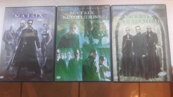 Dvd Trilolia Matrix - 05 Dvd Originais