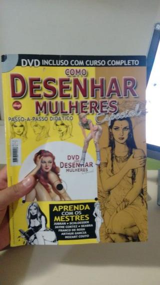 Revista Curso Como Desenhar Mulheres Passo-a-passo Profissio