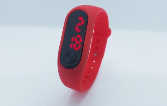 Relógio Infantil Digital Pulseira De Silicone Pronta Entrega