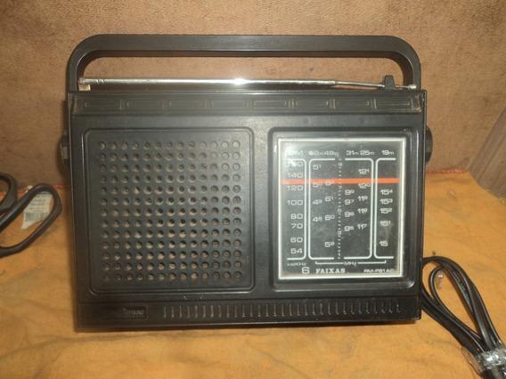 Radio /antigo Motobras C/2fx/am //retirada Peças /nao Funcio