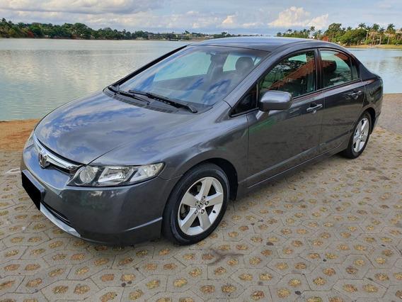 Honda Civic 1.8 Lxs 16v Flex 4p Automático 2008
