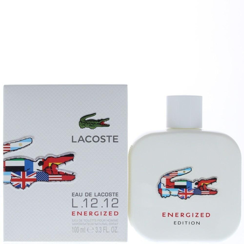 Perfume Loción Lacoste Blanc Energized Hombre 100ml Original