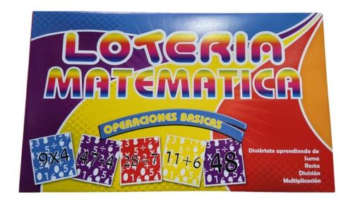 Lotería Didáctica Educativa X Unidad  Entrega Ya!!