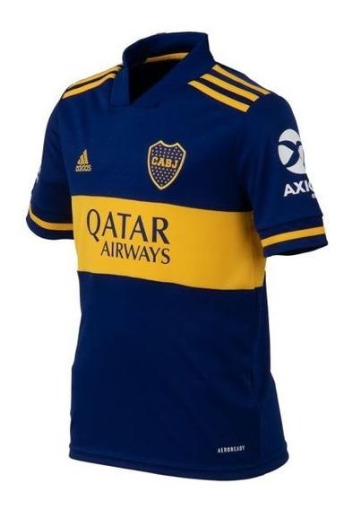 Camiseta Adi Boca H Jsy Niño -sagat Deportes-nueva Original