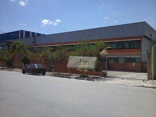 Imagem 1 de 17 de Galpão Comercial À Venda, Parque Santo Agostinho, Guarulhos - Ga0049. - Ga0049