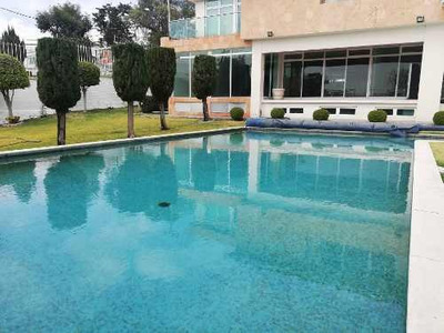 Rento Residencia En Satelite Con Alberca Y Elevador