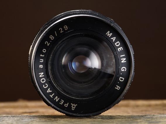 Lente M42 Pentacon 29mm 2.8 Made In Gdr
