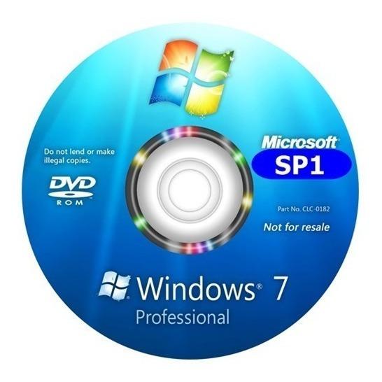 Cd Formatação/instalação Windows 7 Pro 32/64bits Ativado