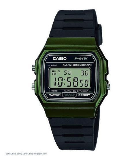 Relógio Casio F-91 Wm-3a