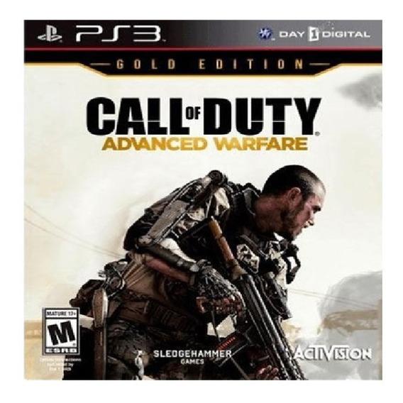 Call Of Duty Advanced Warfare Gold Edition Ps3 Dublado Psn