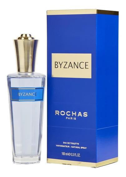Perfume Byzance Rochas Feminino Edt 100ml Original + Amostra