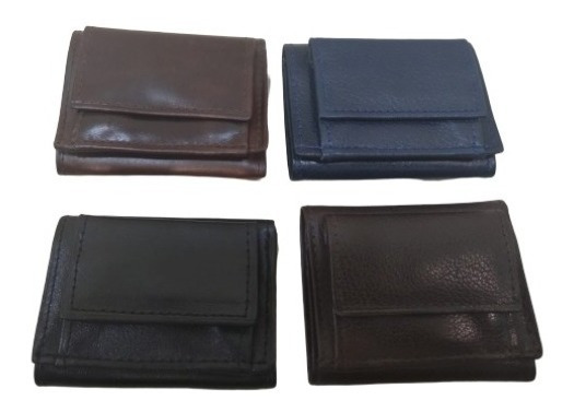 Billetera Pequeña De Cuero Unisex Fabricantes Guns Leather