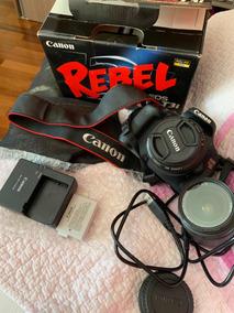 Câmera Canon T3i + Lente 50mm + Lente 18-55mm