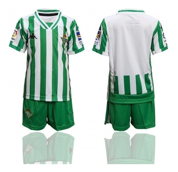 Playera Real Betis Con Short Para Adulto