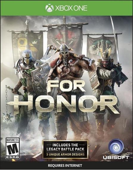 For Honor Xbox One Mídia Física (lacrado)