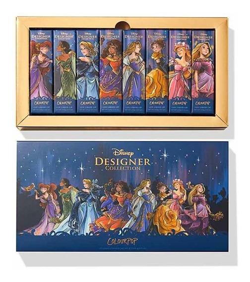 Set De Labiales Colourpop De Las Princesas Disney Premier